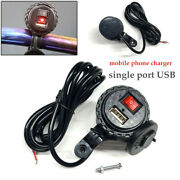 Usb Charger Motorcycle Bike Mobile Phone Charging Line Charging System Durable