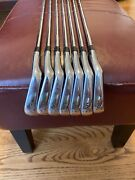 Mizuno Mp-15 4-pw. Dynamic Gold S200 Shafts With Ionic Grips.