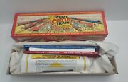 Circus Train Series Walthers 9th Release 19671 Car 58 And 65 New Old Stock