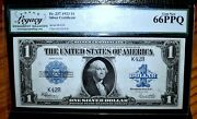 1923 1 Silver Certificate ✪ Low 2 Digit Serial Number ✪ Legacy 66-ppq ◢trusted◣