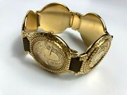 Gianni Versace Vintage And03990s Iconic Medusa 5 Medals G10 Watch Men Ebel Swiss