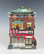 Dept 56 A Christmas Story Chop Suey Building Mint In Box