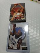 1995-96 E-xl Unstoppable Basketball Complete 20 Card Set Shaq Pippen Hill