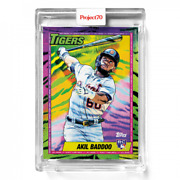 Topps Project70 Card 384 - Akil Baddoo By Tyson Beck Presale