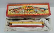 1990s - Vintage The Great Circus Train Walthers Flat Cars 51 And 56 New Old Stock
