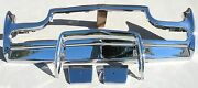 X Thunderbird Front New Triple Chrome Plated Bumper 61-63 1961-1963 Ford Oem
