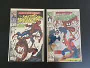 The Amazing Spider-man 361 1st Print 1st App Of Carnage 362 2nd Print Lot