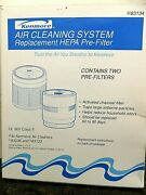 Kenmore Air Cleaning System Replacement Hepa Pre-filter 2 Pack 3283134