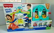 Little People Launch And Loop Racewayvehicle Playset For Toddlers And Preschool Kid