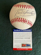 Kirby Puckett Autogrphed Official Al Budig Baseball - Psa-dna Certified Ac41368