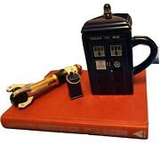 Dr. Who Tardis Sonic Screwdriver Book Gift Pack