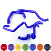 Silicone Radiator Water Hose Kit For 1998-2004 Land Rover Discovery 2 4.0l V8