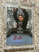 2012 Topps Ufc Bloodlines Red Ink Auto - Nick Diaz 05/15