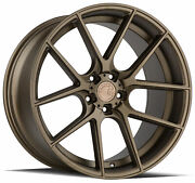 20x9 Aodhan Aff3 5x120 +30 Flow Forged Bronze Rims Set Of 4