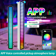Rgb Led Voice-activated Pickup Rhythm Light Colors Sound Control Ambient Light