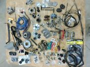 Racing Go Kart Parts And Accessories Lot Over 200 Pieces New And Used