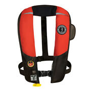 Mustang Survival Md3184/02-rd/bk Mustang Hit Inflatable Pfd Automatic W/harne...