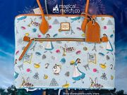 2021 Disney Parks Food And Wine Festival Dooney And Bourke Belle Tote Purse Exact B