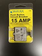 Blue Sea Systems 7056 Push Button Reset Only Quick Connect Circuit Breaker