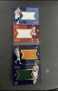 Harden / Jokic / George / Hayward Panini Quad Booklet Game Used Patch Card 🔥