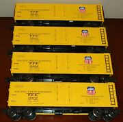 Union Pacific - Pacific Fruit Express - Ventilated Refrigerator - 4pack
