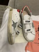 New Auth Golden Goose Sneakers Kids Girls Fashion Shoes Glitter 34 3 335