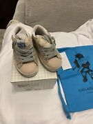 New Auth Golden Goose Sneakers Kids Girls Fashion Shoes Faux Fur 24 8.5 335
