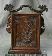 11 Old China Huanghuali Wood Dynasty Portable Layer Drawer Jewelry Box Cabinet