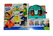 Little People Launch And Loop Raceway Light-up Vehicle Playset Fast Shipping Us