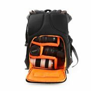 Waterproof Camera Backpack For Photographers Large Dslr Laptop Hiking Outdoor