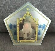 Extremely Rare Silver Dumbledore Harry Potter Chocolate Frog Card