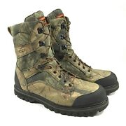Red Wing Shoes Irish Setter Mens Gtx Gore-tex Camo Hunting Boots Size 14