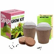 Venus Fly Trap Seeds Growing Kit - All In One Carnivorous Plant Growing Kit G...
