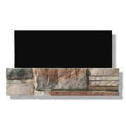 Stone Ledgestone 6 In. X 24 In. Mold/water Resistant Monument Valley Box Of 8