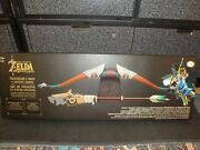 Thinkgeek The Legend Of Zelda Breath Of The Wild Travelers Bow And Ancient Arrow