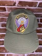Rare Vintage Military Issued Hot Weather Airborne 504 Devils Cap Size 7 3/8