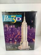 Vtg 1994 Puzz-3d Empire State Building 3d Puzzle 902 Pieces New Factory Sealed