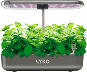 Lyko 12pods Indoor Herb Garden Kit, Hydroponics Growing System With Led Grow Lig