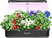 Lyare Hydroponics Growing System,10 Pods Indoor Herb Garden Kit With Led Grow Li