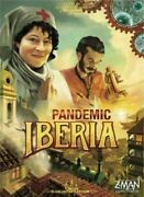 Pandemic Iberia Board Game Z-man New Factory Sealed Free Shipping