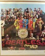 The Beatles Sgt. Pepperand039s Lonely Hearts Club Band Limited Edition Print