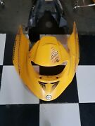 01 Bombardier Ds 650 Yellow Front Rear Sides Plastics Seat And Tank Cover Oem