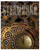 Vintage Victorian Style Steampunk Sign Rustic Clock Gears 8 X 10 Reproduction