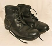 Ww2 British Army Combat Leather Ammo Boots Size 10