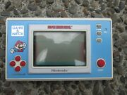 Vintage Super Mario Bros Nintendo Game And Watch Ym-105 - Near Mint Works Great