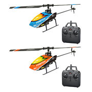 4 Channel Rc Helicopter Flybarless  Remote Control Drone Aircraft Toys