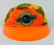 Vintage G.i. Joe Special Forces Kids Cap Hat- The Adcap Line Made In Usa