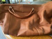 Piel Leather Carry On Bag Brown Made In Columbia