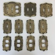 Vintage Amerock Carriage House Light Switch Plate And Outlet Covers Lot Of 11 B