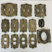 Vintage Amerock Carriage House Light Switch Plate And Outlet Covers Lot Of 13 C